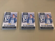 2012 Panini Peyton Manning Career Highlights 10-Card Set Super Bowl XLVI