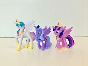 """My Little Pony: Princess Celestia, Luna, & Twilight Sparkle 2"""" Minifigures"""