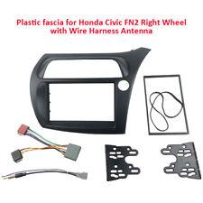 Stereo Fascia Harness Antenna for Honda Civic 2006-2011 dash kit Facia Plate Kit