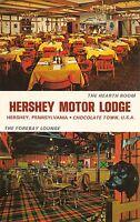 Hershey Pennsylvania 1960s Postcard Hershey Motor Lodge Motel Restaurant