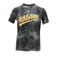 Oakland Athletics MLB Majestic Kids Youth Size Athletic T-Shirt New with Tags