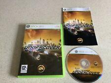 Need for Speed Undercover Xbox 360 Spiel 12+ Jungen Kinder Autos Racing fastpost