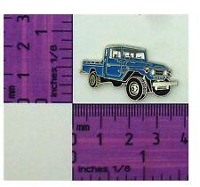 Toyota Landcruiser LWB BLUE  FJ 79 , HJ 79 Ute Quality Metal Lapel Pin / Badge