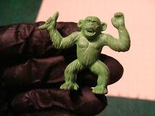 vintage Diener Eraser: green Chimp holding Banana