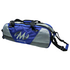 Motiv Ballistix 3 Ball Tote/Roller Blue Bowling Bag