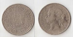 British Honduras 50 cents 1897
