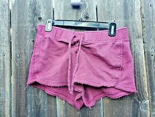 SO PERFECT LOUNGE SHORTS MEDIUM JUNIORS DISTRESSED
