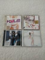 Kylie Minogue CD audio album bundle-Fever-Aphrodite-X-Greatest Hits good conditi