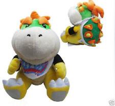 Super Mario Bros Bowser Jr. Junior Stuffed Plush Figure Doll Toy Cute Kids toy I