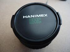 HANIMEX 28MM WIDE ANGLE LENS F22-2.8 VGC PENTAX P/K MOUNT FIXED LENS