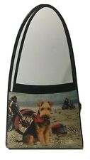 Fox Terrier Purse Womens Handbag Tote Motorcycle Beach Dog Lover