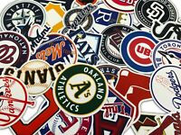 Best 30 PCS MLB Baseball Team Logo Stickers for Laptop Luggage Decals Sticker