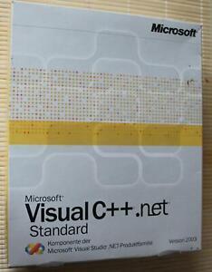 Microsoft Visual C++ .net 2003 Standard Deutsch