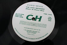 """Chic / Earth, Wind & Fire – The Chic Megamix (Back To Disco Mix) 12"""" VG+"""