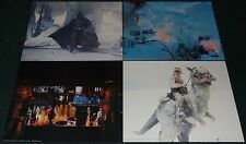 STAR WARS THE EMPIRE STRIKES BACK 1980 ORIGINAL JUMBO LOBBY CARD SET OF 4