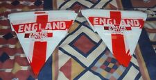 BRAND Mania England Supporters St George Flag 5 Meter Bunting Packs X 2