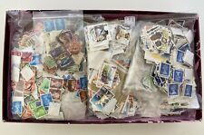 1.3kg Box Full Of British Stamps All Off Paper, Unhinged Look Unsorted Job Lot