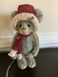 Charlie Bears ~SABIAR~  Mohair Mouse Only 90 Worldwide Isabelle Lee Rare Retired