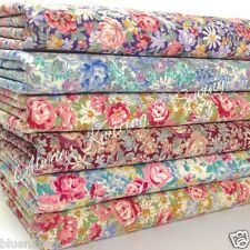 Bundle 6 fat quarters 100% cotton material vintage pretty florals