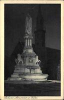 Bozen Bolzano Südtirol Italien s/w AK 1930 gelaufen Monumento a Walter Denkmal
