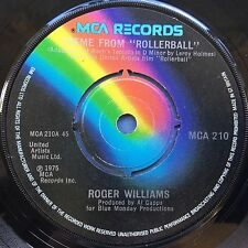 Roger Williams - Theme From ROLLERBALL - MCA 210 VG Condition A1/B1