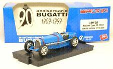 S99/08 BRUMM 1:43 - 1933 Bugatti type 59 PROMO 90° anniversario Ltd.Ed. 779/3000