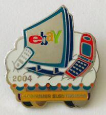 Ebay Live 2004 Lapel Pin Consumer Electronics Category Ebayana Ad Souvenir