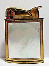 1950's Evans Lighter, Beautiful Mother Of Pearl Front, Excellent Condition, USA