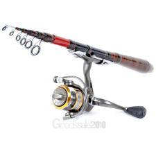Professional Carbon Fiber Telescopic Fishing Rod Travel Spinning Rod Pole 2.1m