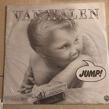 """VAN HALEN – Jump - Original SEALED  1983  UK 12"""" vinyl W9384"""