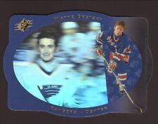 Wayne Gretzky--New York Rangers--1996-97 SPx Hockey Card