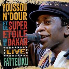 Youssou N'Dour And Le Super Etoile De Dakar - Fatteliku - Live (NEW CD)