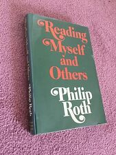 Reading Myself and Others by Philip Roth, 1975 1st Printing, Hardcover, LIKE NEW