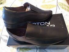 Burton Mens Black Leather Slip On. Bnwb . Size 9
