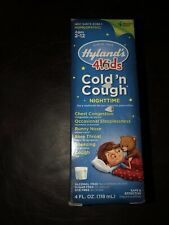 1 Pack Hylands 4Kids Nighttime Cold and Cough Homeopathic 4 fl oz SEALED