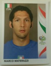 PANINI GERMANY 2006 WORLD CUP #325 MARCO MATERAZZI-ITALIA
