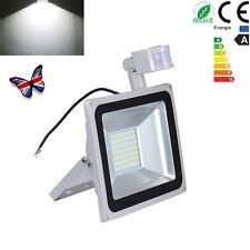 100W PIR Motion Sensor LED Outdoor Floodlight Lamp 220V IP65 Cool White