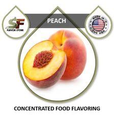 Peach Flavor Drops Flavoring Concentrate - 1oz/30ml - SageFox - FL013
