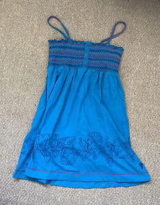 Fat Face Summer Holiday Dress Girls Sun 10-11 Years Cotton