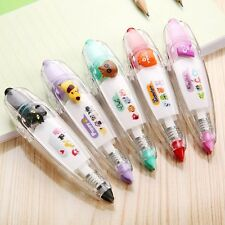 Cute Cartoon Colorful Correction Tapes Kids DIY Gift School Supplies Stationery