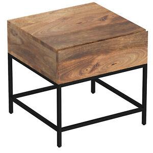 Designer Jaden Accent Table Natural Burnt Living Room Furniture
