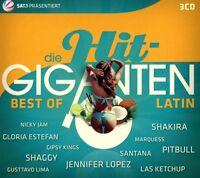 DIE HIT GIGANTEN BEST OF LATIN (Shakira, Santana, Alvaro Soler) 3 CD NEUF