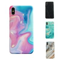 Marble Matte Protective Phone Case TPU Cover For iPhone X XR XS Max 8 7 6s Plus