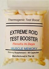 Testosterone Booster x 60 capsule - NOT STEROIDS - Huge Muscle Gains - creatine