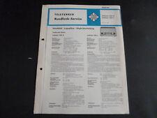 Original Service Manual Telefunken Jubilate 1351K Jubilate 1351L