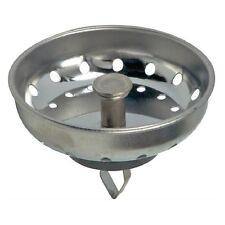 Danco 81079 Universal Sink Strainer Basket, Chrome Plated