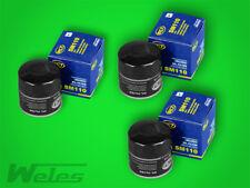 3 x SM110 Ölfilter SAAB 99 90 900 I II 9000 9-3 9-5 2,0 2,3 3,0