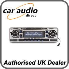Caliber RCD120BT Retro Style Classic Bluetooth Car Stereo Radio CD MP3 SD USB BN