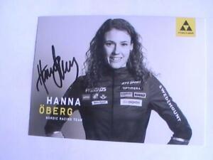 Autogramm Hanna Öberg (Biathlon)