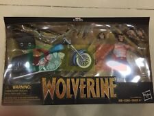 MARVEL LEGENDS WOLVERINE with MOTORCYCLE ACTION FIGURE (SEALED)